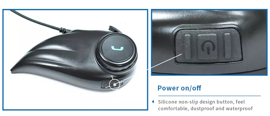Ltd F1 Brandoo Noise Cancelling Motorcycle Helmet Bluetooth Headset Rainproof 800 Meters Rainproof Helmet Headset Intercom Shenzhen Brandoo Technology Co