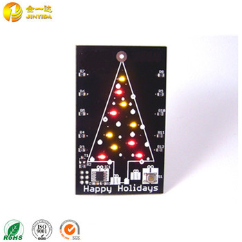 Custom music themed christmas greeting card with led light buy custom music themed christmas greeting card with led light m4hsunfo