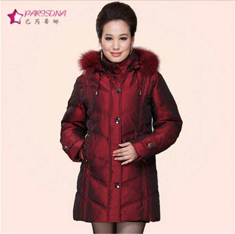 Plus Size 5XL Winter Coat Women Casual Thick Fox Fur Collar Jacket 90%Top White Duck Down Jacket Women Parkas Woman Fashion Coat