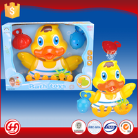 Best quality cute safety PP baby water duck floating bath toy set