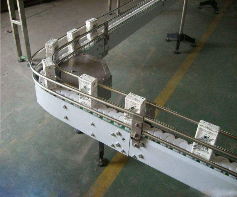 DHP multiangle plastic conveyor chain manufacturer for boxes conveyor-10