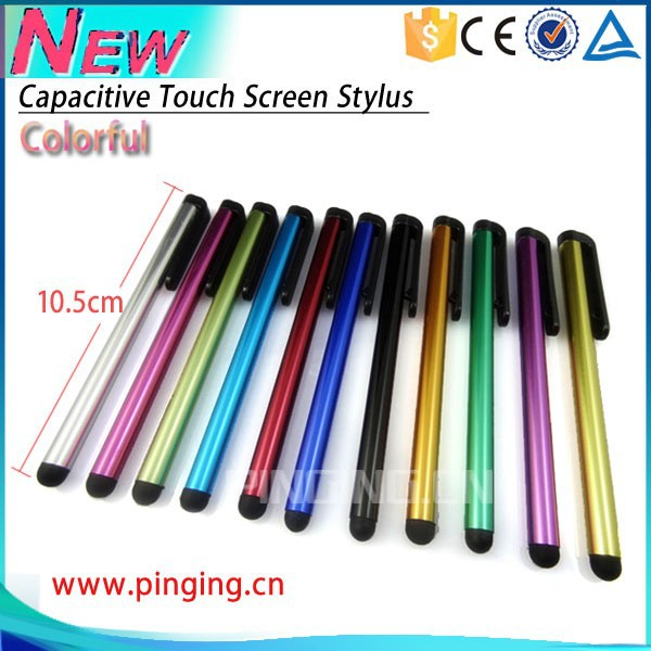 new product Slim Universal for Capacitive Touch screen stylus for Cell phone ,Tablet, touch pen for Smartphone