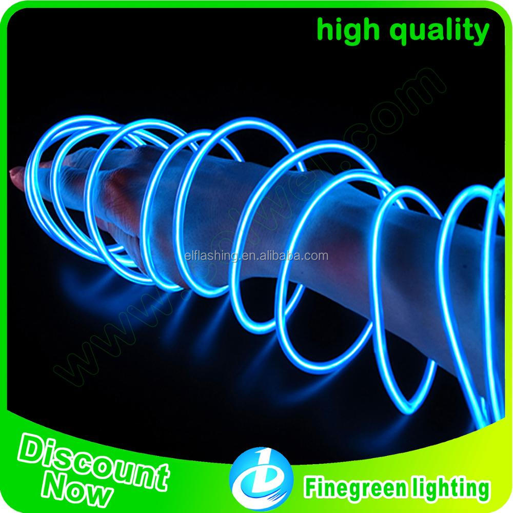 Colorful EL Wire/electroluminescent wire Rope Tube with Controller