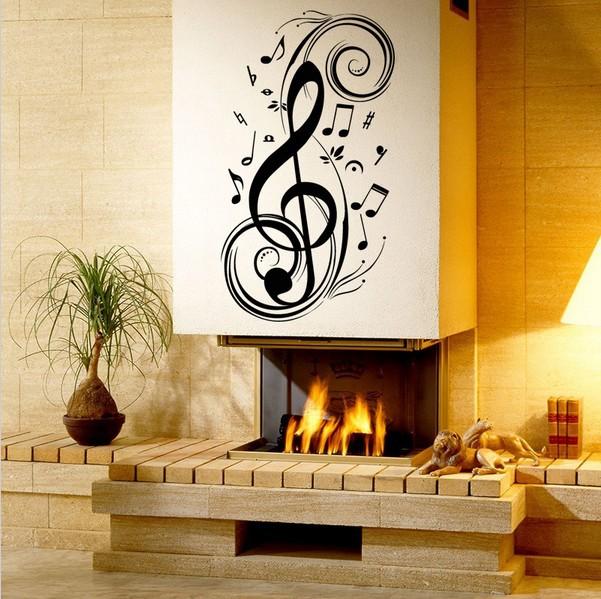 Music Virus Wall Decor Say Quote Word Lettering Art Vinyl