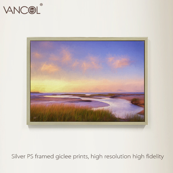 Lukisan Minyak Lanskap Alam Yang Indah Naturl Pemandangan Kanvas
