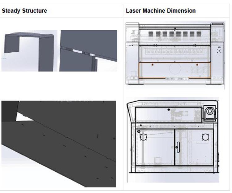 Z6040 60 w 80 w Pequena Área de trabalho Mais Barato Máquina de Corte A Laser Para Venda