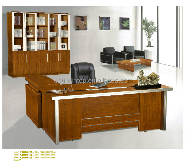 Office Table Design Wooden Office Table Design Modern Executive Desk Office T
