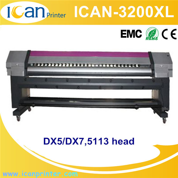 Topcolor Brand high quality DX5 / DX7 printhead 3.2m flex banner printing machine price