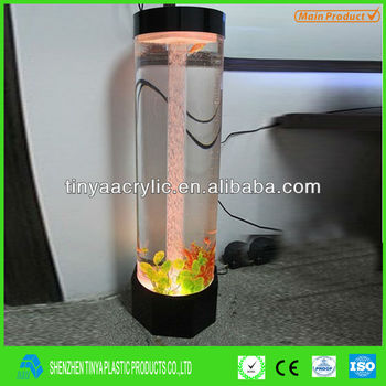 Cylinder Acrylic Aquarium.2013 Hot-sale Fish Tank.aquarium Tank ...