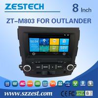 car dvd gps car radio auto parts navis car stereo for Mitsubishi Outlander