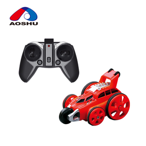 2.4G Mini 360 Degree Stunt Five wheels vehicle RC Car with light