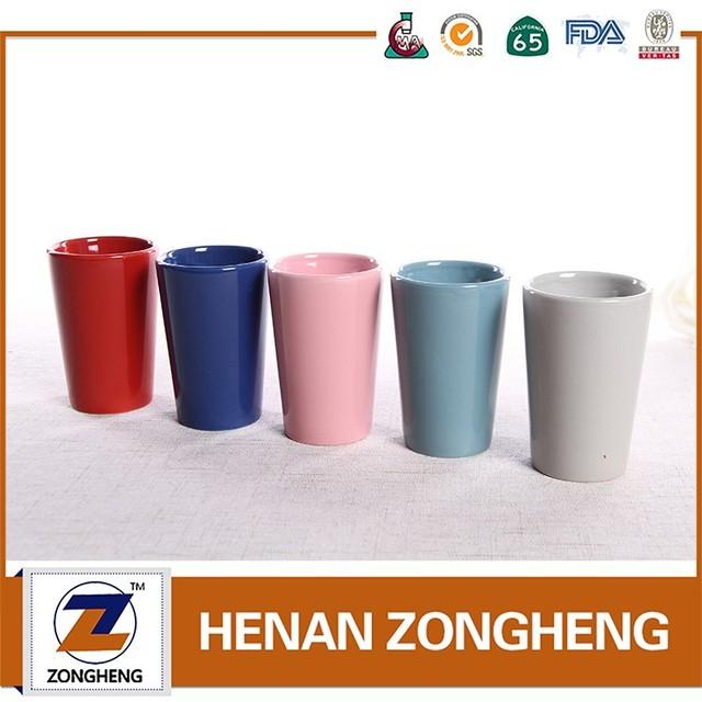 Ceramic Coffee Mug Tea Cup No Handle