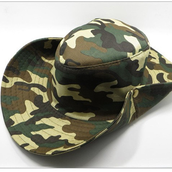 Custom 100% Polyester Fisherman Camo Bucket Hat with String and Mesh ... c4ccfa8bec9