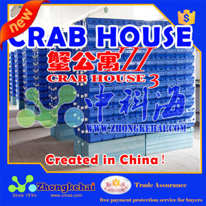 Live mud crab or king crab farming boxes