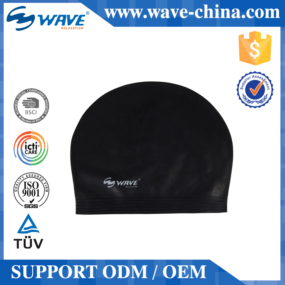 Hot Sales Professional Adult Waterproof Swim Cap 100% Silicone