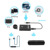 Hotselling 2017 amazon 2 In 1 Wireless Receiver And Transmitter For phone And Tv And Pc