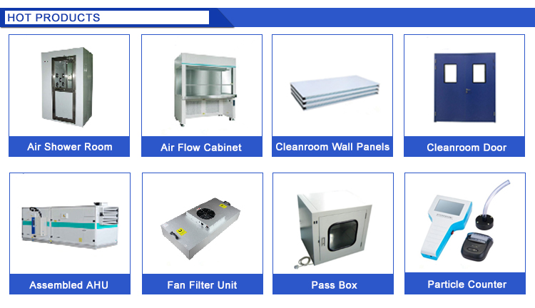 CE Certificated U15 Clean Room FFU Hepa Fan Filter Unit