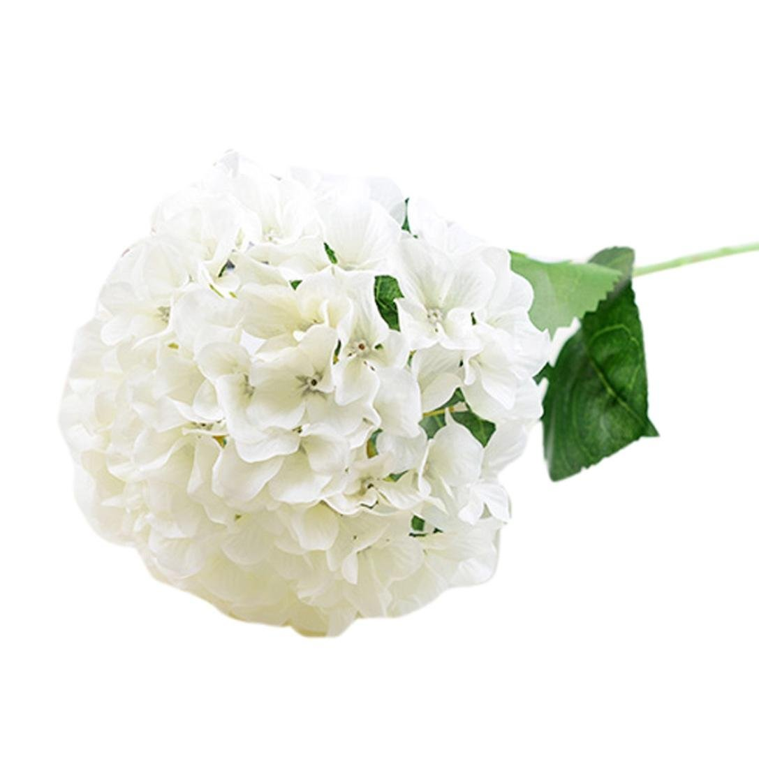 Cheap Artificial White Hydrangea Flowers Find Artificial White