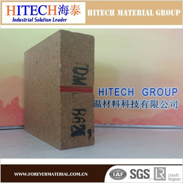 qualified manufacturer zibo hitech Refractory Magnesia Alumina Spinel Brick with tough texture and high quality of compressio
