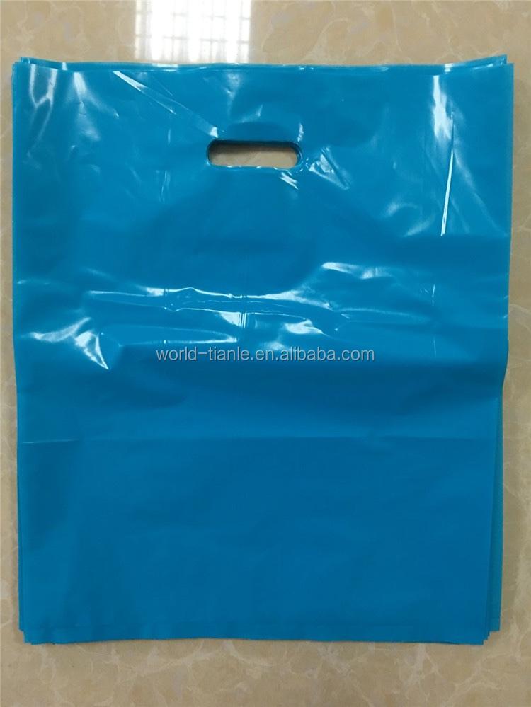 Ldpe Custom Plastic Die Cut Bag Plastic Merchandise Bag ...