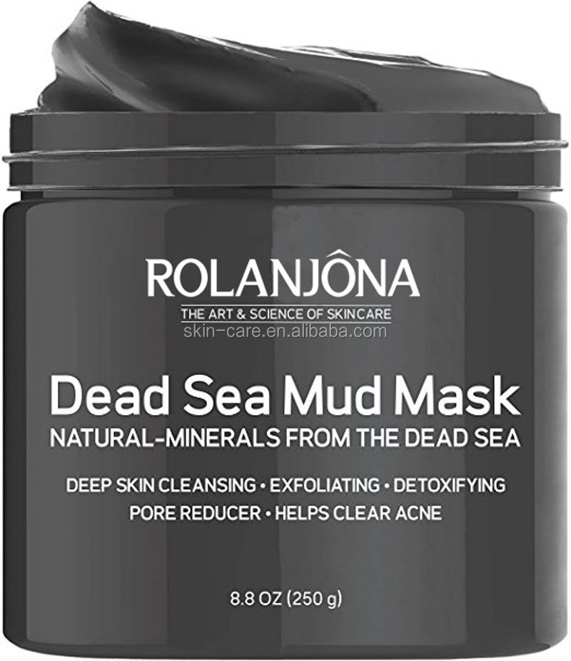 Rolanjona antibacterial Natural herbal mineral salt israel dead sea mud Hydrogel sleeping mask