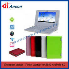 "Mini Laptop 7"" Color Screen Kids Laptops"