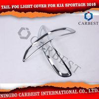 High Quality Tail Fog Lamp Cover Trim for Kia Sportage R 2016