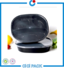 3-compartment Bento Lunch Box/ Plastic Containers/ Reusable Microwavable safe Food Containers