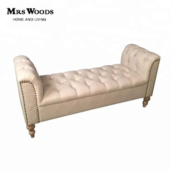 Enjoyable French Fabric Upholstered Tufted Bed End Antique Bedroom Bench Buy Bedroom Bench Antique Bedroom Bench Bed End Bench Product On Alibaba Com Uwap Interior Chair Design Uwaporg