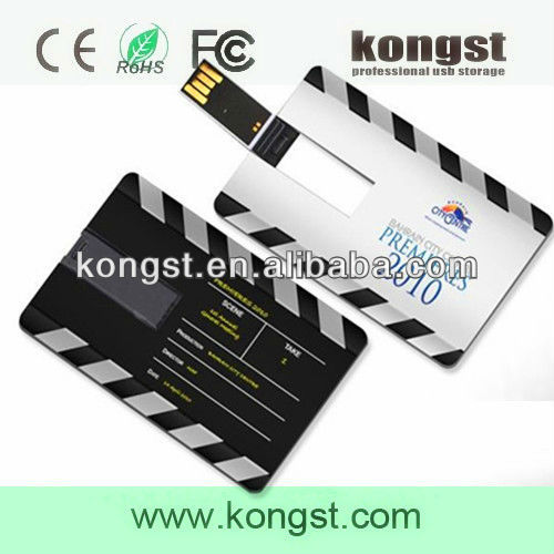 Custom Design Credit Card USB Flash Drive 2.0 Accept Paypal
