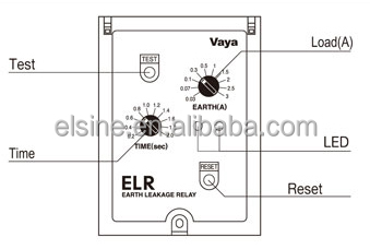elr efr 2 5 electronic leakage relay buy electronic leakage elr efr 2 5 electronic leakage relay