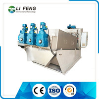 MDS413 high efficient dissolved air flotation system in sludge dewatering