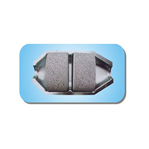 motorcycle exhaust catalytic converter ceramic fiber mat