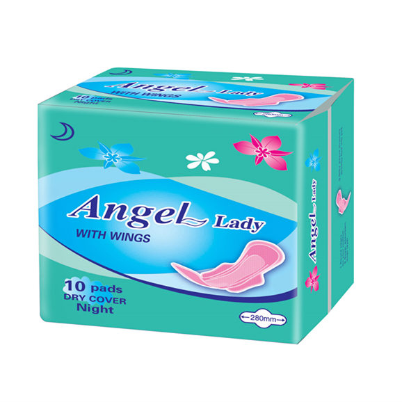 Best Sanitary Napkin Product - Organic Cotton Sanitary Napkin / Soft Pad for Lady