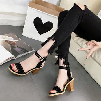 2378151e8 Оптовая продажа модели на платформе и высоком каблуке для девочек 2017 г.  женская обувь из