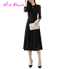 Best Selling Pretty Fashion Elegant Plus Size Black Girls Lace Dress