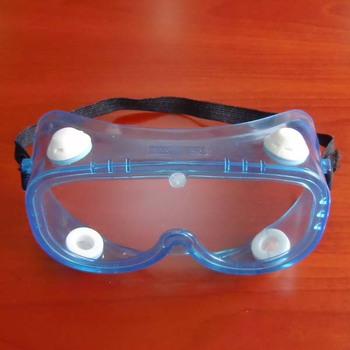 adjustable 4 indirect vents safety goggles for ebola visor safety goggles supplier in China