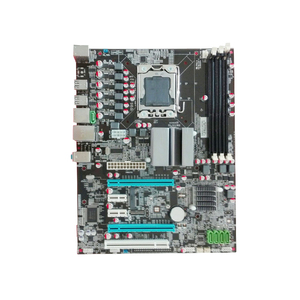 I7 Motherboard LAG1366 Motherboard X58 with SSD Port gaming motherboard