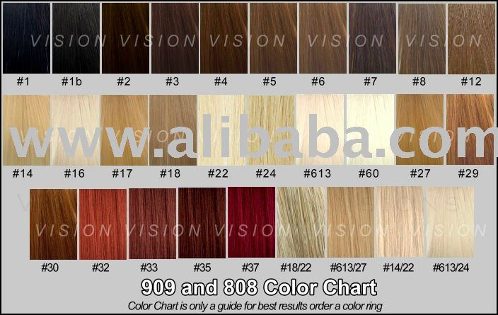 Extension Hair Colors Chart Image Collections Hair Extensions For