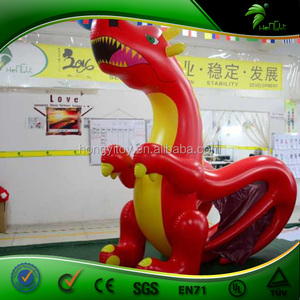 Giant Inflatable Cartoon Animal Red Dragon Costume Customized Ball Toys  Inflatable Cartoon Character Dragon Balloons