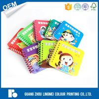 Custom Hardcover Book Printing Service in China board binding children coloring book printing