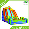 Good quality and safe inflatable slide,fire truck inflatable slide,wave inflatable slide