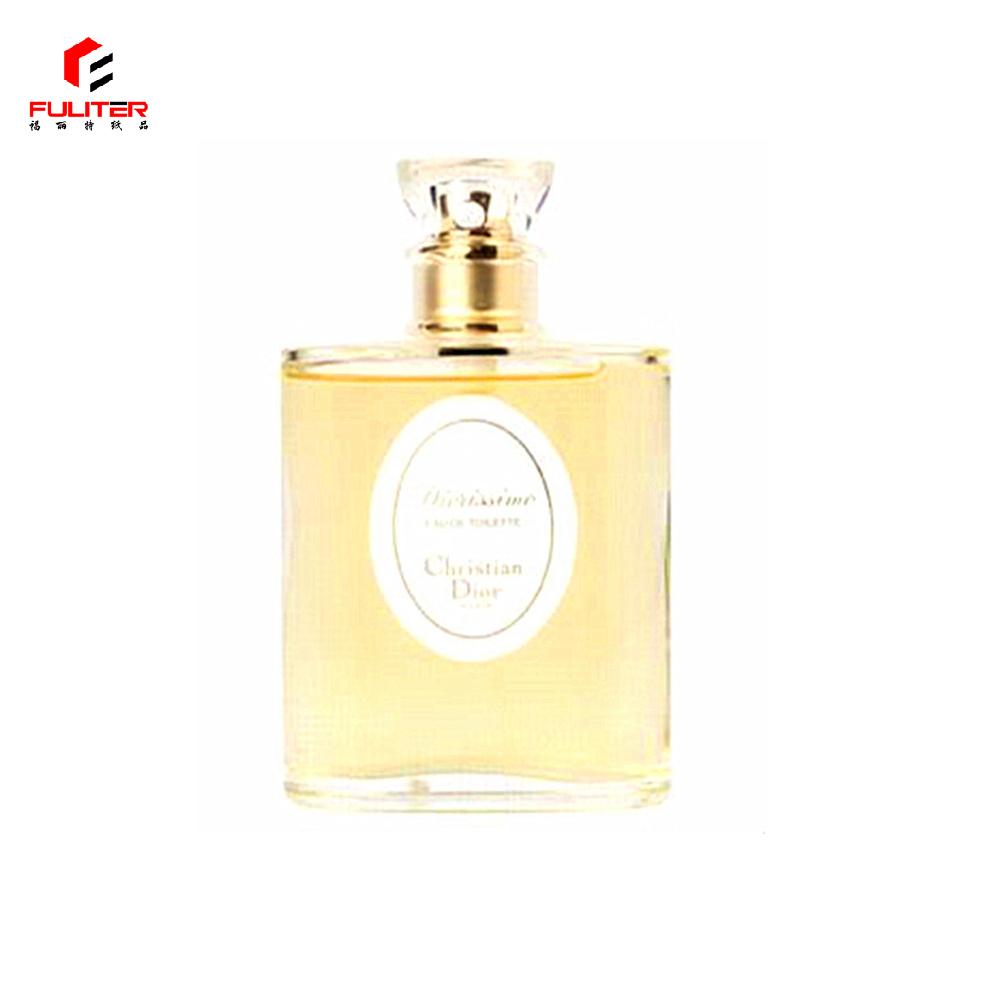Custom design personalized paper perfume bottle label sticker