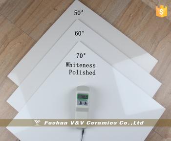 Gradi super pavimento bianco full body lucido bianco
