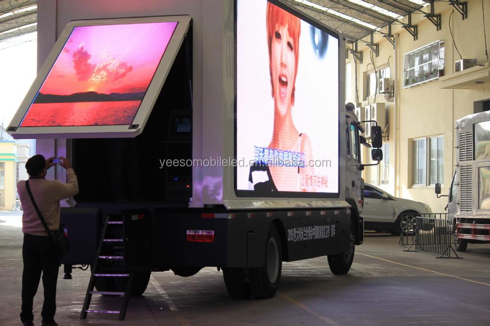 Yeeso Digital Mobile Billboard Truck For Sale Yes-v9 - Buy ...