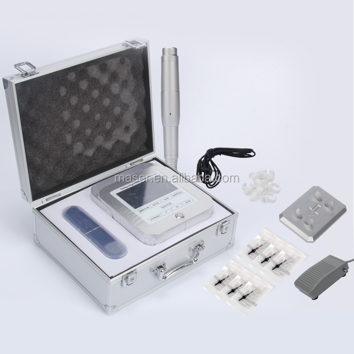 Profesional Acrylic Fungsi Ganda Alis Permanent Makeup Tattoo Power Supply untuk Permanent Make Up