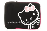 hello kitty neoprene bags for ipad/ ipad 2 bag