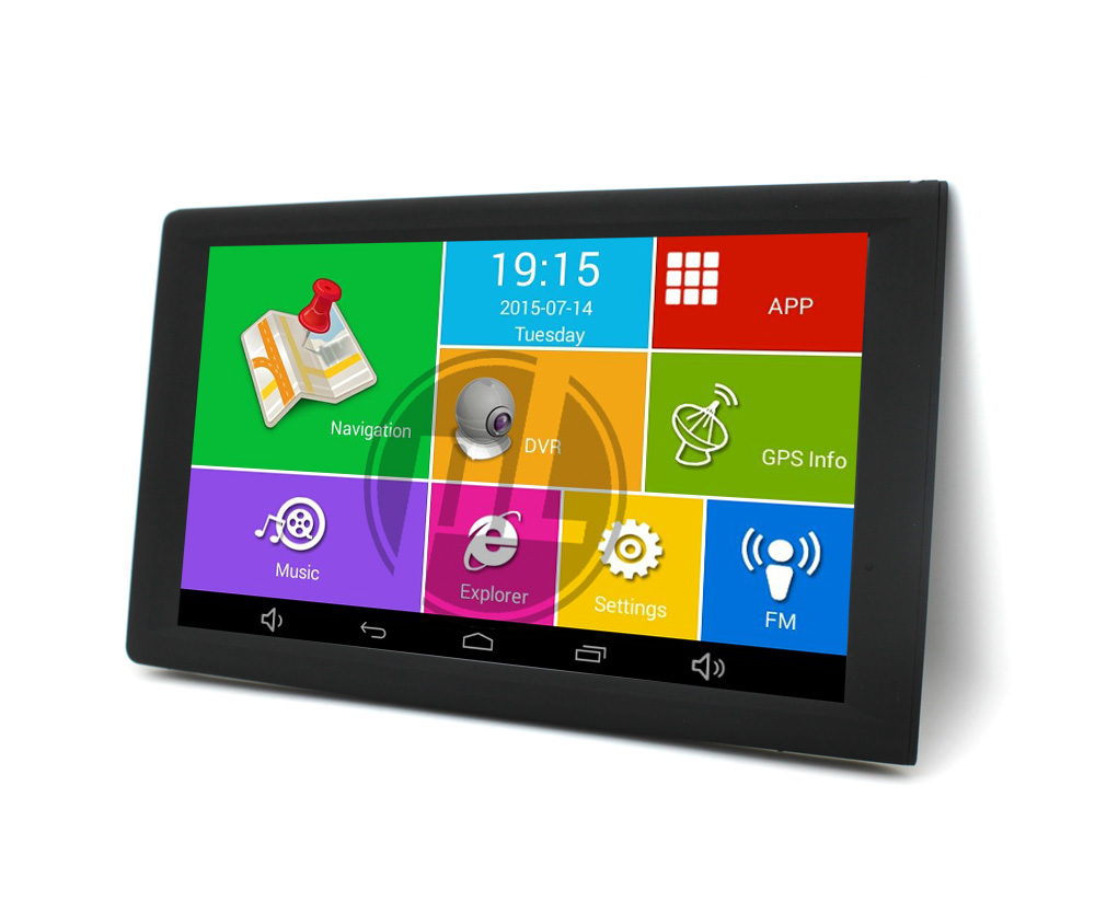 9 Inch High Brightness Capacitive Screen Built In 512Mb 16Gb Free Europe Map Portable Car Navigator Gps <strong>Device</strong>