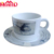 2018 new arrival coffee tea melamine cup with saucer