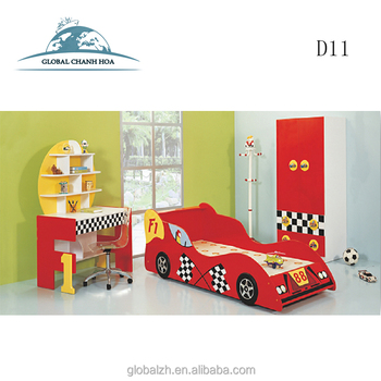 Charmant Ferrari Kids Sports Car Bunk Beds Children Bedroom Furniture